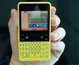 Freigesetzter Nokya Asha 210 QWERTYtastatur-Handy neues Simfree