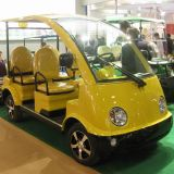 4 Leute-bunter elektrischer kleiner Garten-Buggy (DN-4)