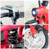 Bici elettrica piegante 2016 della città del motorino della batteria di litio (ES-1202)