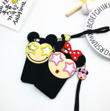 3D Bowknot Mouse Star Mirror Cell Phone Case voor iPhone 6plus