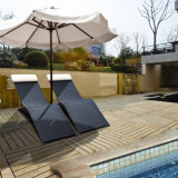 Alumínio Rattan Lounge Chair Outdoor Pool Furniture