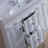 Nouvelle vanité de salle de bains de PVC de qualité avec le Cabinet latéral (NW1923)