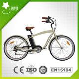 남자를 위한 대중적인 36V 10ah 리튬 건전지 바닷가 전기 자전거