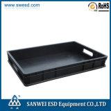 Da caixa condutora do ESD da caixa da caixa da circulação tampa antiestática da caixa 3W-9805316 disponível