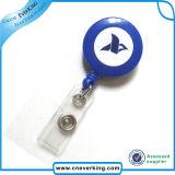 Bobine di plastica più poco costose del yo-yo del distintivo di identificazione del tondo