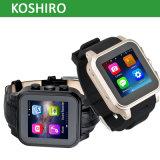 Androide intelligente Uhr mit Uhr-Handy
