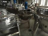 Chaleira Jacketed de aquecimento sanitária de Gas/LPG/LNG para a química de alimento