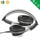 Migliore cuffia stereo pieghevole nera di vendita di alta qualità