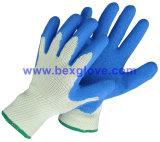 Перчатка работы, перчатка безопасности, перчатка латекса, перчатка сада