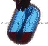 rectángulo plegable Sfb11 del alimento del silicón del almacenaje del alimento del silicón 800ml