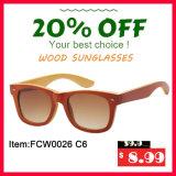 Personnaliser les lunettes de soleil en bois en bambou de qualité