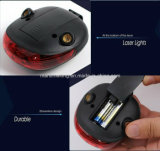 Indicatore luminoso impermeabile di riciclaggio della coda del laser della lampada posteriore della bicicletta di sicurezza