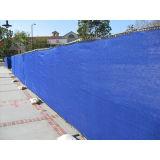 안전망, 건축 메시, 임시 안전 담, 파란 비계 순수한 녹색