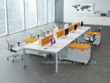 Werkstation van het Bureau van de Vorm van L van de Verdeling van het Bureau van het Ontwerp van de manier het Lineaire (HF-YZLB10)