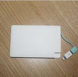 Portable 도매 2600mAh Credit Card Power 은행