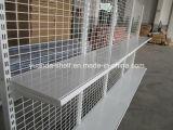 スペイン様式の鋼線の背部ゴンドラのスーパーマーケットの棚付けの表示棚