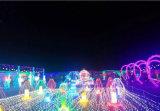 [لد] عيد ميلاد المسيح يشعل شبكة خارجيّ عطلة زخارف