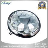 Espelho compato de cristal redondo para ofertas relativas à promoção