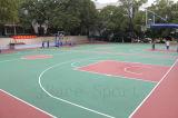 Баскетбольная площадка пальто буфера PU кремния (JRace)