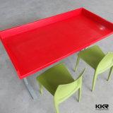 新しいデザイン固体表面の家具のレストランのコーヒーテーブル