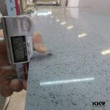 大きい平板のCaesarstoneの白い大理石は人工的な水晶石の平板を好む