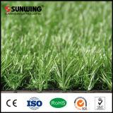 Garten-Dekoration preiswertes PET Grün-künstlicher Gras-Teppich mit SGS-Cer