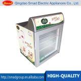 Congélateur de partie supérieure du comptoir de crême glacée, mini congélateur pour l'étalage de crême glacée