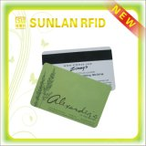 Smart card magnético sem contato personalizado do PVC RFID do tamanho