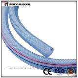 Boyau non-toxique transparent de PVC pour le boyau de plastique de l'eau