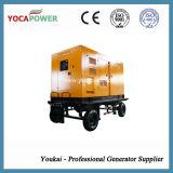 300kw 전기 방음 디젤 엔진 발전기 이동할 수 있는 발전