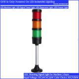 lámpara amonestadora de la herramienta de máquina de 24V LED/luz de indicador multicolora