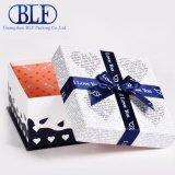 Contenitore di carta stampato piacevole di regalo cosmetico su ordinazione del cartone