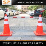 ABS道のバリケードのための拡張可能トラフィックの円錐形棒障壁2.2メートルの