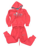 Childrenの冬Fleece Kids Girl Sports Wear Suit 「s Clothing Swg136
