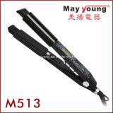 M513 2 в 1 конструкции плоского раскручивателя волос утюга классицистической