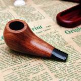 새로운 고전적인 나무로 되는 담배 담배 Cigar 연기가 나는 관
