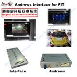 2015 Interfaz de pantalla táctil de navegación GPS para Honda City, Fit, Accord9 o conducción del lado izquierdo Versión ( LLT - YG- VER9.0 )