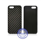 Met rubber bekleede PC Plastics Mobile Phone Cover van Design Carbon van de manier Fiber voor iPhone 5se