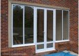 Windows de desplazamiento de aluminio de cristal y puertas
