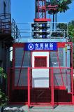 Средний строительный подъемник здания преобразователя частоты скорости