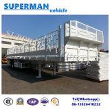 Del alimentador los 40FT de carga del compartimiento acoplado utilitario del carro semi