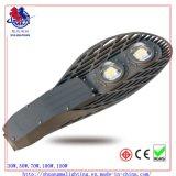 gris oscuro de la luz de calle del modelo LED de la raqueta 50W