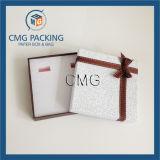 Caixa de papel impressa para a colar da jóia (CMG-PJB-007)