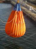 Bolso lleno de agua del peso para la prueba de la carga de la grúa de la cubierta
