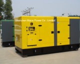 275kVA 220kw Reservekinetik-BRITISCHER Motor-schalldichter Dieselgenerator
