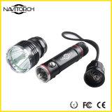 Impato do diodo emissor de luz do CREE XP-E - lanterna elétrica de alumínio recarregável resistente (NK-09)