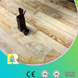 Commercial 12.3mm AC4 en relieve Teak Waxe3d Edged piso laminado