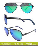 Glaces en métal de lunettes de soleil de gosses (85-C)