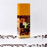 Flat Bottom Gusset Stand up Matte Aluminium Sac à café en stratifié avec Zip Lock / Sac en plastique d'emballage avec Ziplock (ML-E19)