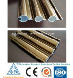 Perfis de alumínio da extrusão para o indicador Louvered de alumínio